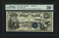 National Bank Notes:Virginia, Leesburg, VA - $10 1882 Date Back Fr. 539 The Loudoun NB Ch. #(S)1738. ...