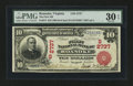 National Bank Notes:Virginia, Roanoke, VA - $10 1902 Red Seal Fr. 613 The First NB Ch. # (S)2737....