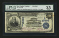 National Bank Notes:Virginia, New Castle, VA - $10 1902 Plain Back Fr. 632 The First NB Ch. #(S)10993. ...