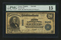 National Bank Notes:Virginia, Crewe, VA - $20 1902 Plain Back Fr. 652 The First NB Ch. # 9455....