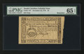 Colonial Notes:South Carolina, South Carolina December 23, 1776 $3 Remainder PMG Gem Uncirculated65 EPQ.. ...