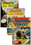 Golden Age (1938-1955):War, DC Silver Age War Related Comics Group (DC, 1950s-60s) Condition:Average FN-.... (Total: 7 Comic Books)