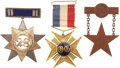 Military & Patriotic:Civil War, Magnificent Badge Grouping of a Noteworthy Officer.... (Total: 3 Items)