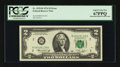 Error Notes:Mismatched Prefix Letters, Fr. 1935-B $2 1976 Federal Reserve Note. PCGS Superb Gem New67PPQ....