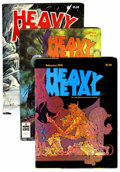Magazines:Science-Fiction, Heavy Metal Group (HM Communications, 1978-85).... (Total: 30 Comic Books)