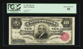Large Size:Silver Certificates, Fr. 299 $10 1891 Silver Certificate PCGS Choice About New 58....