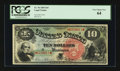 Large Size:Legal Tender Notes, Fr. 96 $10 1869 Legal Tender PCGS Very Choice New 64....