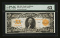 Large Size:Gold Certificates, Fr. 1187 $20 1922 Gold Certificate PMG Choice Uncirculated 63....