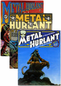 Magazines:Underground, Metal Hurlant Magazines Group (Les Humanoïdes Associés, 1974-87) Average VF.... (Total: 23 Comic Books)