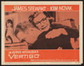 "Movie Posters:Hitchcock, Vertigo (Paramount, 1958). Lobby Card (11"" X 14""). Hitchcock.. ..."