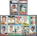 Baseball Cards:Sets, 1965 Topps Baseball Partial Set (442/598) - With Mantle and Mays!...