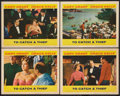 """Movie Posters:Hitchcock, To Catch a Thief (Paramount, 1955). Lobby Cards (4) (11"""" X 14""""). Hitchcock.. ... (Total: 3 Items)"""