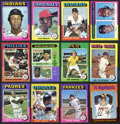 Baseball Cards:Sets, 1975 Topps Baseball Near Set (646/660). ...