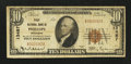 National Bank Notes:Wisconsin, Phillips, WI - $10 1929 Ty. 1 First NB Ch. # 13487. ...