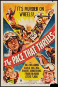 """Movie Posters:Sports, The Pace that Thrills (RKO, 1952). One Sheet (27"""" X 41""""). Sports.. ..."""