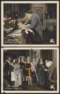 """The Marriage of William Ashe (Metro, 1921). Lobby Cards (2) (11"""" X 14""""). Black Films. ... (Total: 2 Items)"""