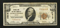 National Bank Notes:Virginia, Charlottesville, VA - $10 1929 Ty. 1 NB & TC Ch. # 10618. ...