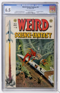 Golden Age (1938-1955):Science Fiction, Weird Science-Fantasy #23 (EC, 1954) CGC FN+ 6.5 Cream to off-whitepages....