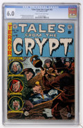 Golden Age (1938-1955):Horror, Tales From the Crypt #42 (EC, 1954) CGC FN 6.0 Cream, to off-whitepages....