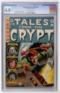 Golden Age (1938-1955):Horror, Tales From the Crypt #38 (EC, 1953) CGC FN 6.0 Off-white to whitepages....