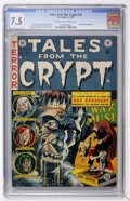 Golden Age (1938-1955):Horror, Tales From the Crypt #34 (EC, 1953) CGC VF- 7.5 Cream to off-whitepages....