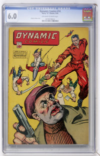 Dynamic Comics #14 (Chesler, 1945) CGC FN 6.0 Off-white to white pages