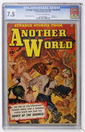 Golden Age (1938-1955):Horror, Strange Stories from Another World #5 (Fawcett, 1953) CGC VF- 7.5Off-white to white pages....