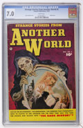 Golden Age (1938-1955):Horror, Strange Stories from Another World #3 (Fawcett, 1952) CGC FN/VF 7.0White pages....