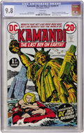 Bronze Age (1970-1979):Science Fiction, Kamandi, the Last Boy on Earth #1 (DC, 1972) CGC NM/MT 9.8 White pages....