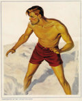 Pulps:Miscellaneous, Doc Savage Pulp Subscriber Portraits (Street & Smith, circa 1930s)....