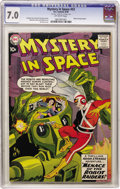 Silver Age (1956-1969):Superhero, Mystery in Space #53 (DC, 1959) CGC FN/VF 7.0 Off-white pages....