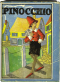 "Books:First Editions, ""Pinocchio"" by Carlo Collodi First Edition (Whitman, 1916)...."