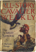 """Pulps:Miscellaneous, All-Story Cavalier Weekly """"Beasts of Tarzan"""" Group (Munsey, 1914)...."""