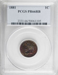 Proof Indian Cents, 1881 1C PR66 Red and Brown PCGS....