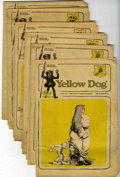 Silver Age (1956-1969):Alternative/Underground, Yellow Dog Tabloid Group (Print Mint, 1969) Condition: AverageGD/VG.... (Total: 6 Comic Books)