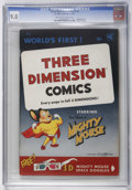 Golden Age (1938-1955):Cartoon Character, Mighty Mouse 3-D #1 (St. John, 1953) CGC VF/NM 9.0 Cream tooff-white pages....