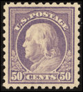 Stamps, 50¢ Light Violet (477),...