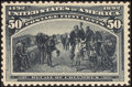 Stamps, 1¢ - 50¢ Columbians (230//240),... (Total: 3 Card)