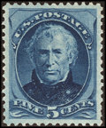 Stamps, 5¢ Blue (185),...
