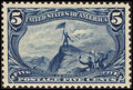 Stamps, 5¢ Dull Blue (288),...