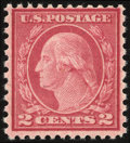 Stamps, 2¢ Carmine Rose, Type II (539),...
