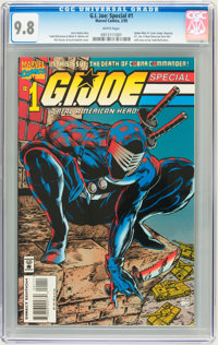 G.I. Joe Special #1 (Marvel, 1995) CGC NM/MT 9.8 White pages