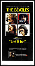 """Movie Posters:Rock and Roll, Let It Be (United Artists, 1970). Three Sheet (41"""" X 81""""). Rock andRoll.. ..."""