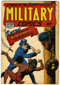 Golden Age (1938-1955):War, Military Comics #23 (Quality, 1943) Condition: VG+....