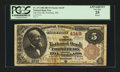National Bank Notes:Maryland, Frostburg, MD - $5 1882 Brown Back Fr. 471 The First NB Ch. # 4149....