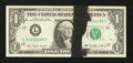 Error Notes:Ink Smears, Fr. 1909-L $1 1977 Federal Reserve Note. Gem Crisp Uncirculated.....