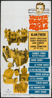 "Mister Rock and Roll (Paramount, 1957). Three Sheet (41"" X 81""). Rock and Roll"