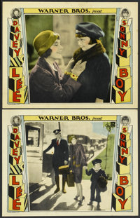 """Sonny Boy (Warner Brothers, 1929). Lobby Cards (2) (11"""" X 14""""). Comedy. ... (Total: 2 Items)"""