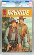 Silver Age (1956-1969):Western, Four Color #1202 Rawhide - File Copy (Dell, 1961) CGC NM+ 9.6Off-white to white pages....