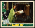 "Movie Posters:Mystery, The Black Cat (Universal, 1941). Lobby Card (11"" X 14""). Mystery.. ..."